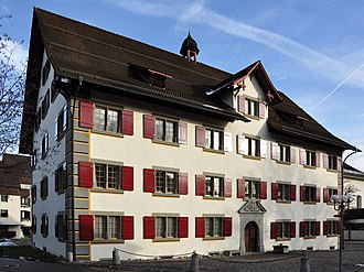 Vogt (Switzerland) - Former Amthaus in Rüti ZH
