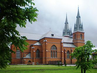 Rēzekne - Sacred Heart of Jesus Cathedral