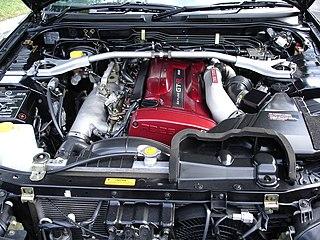 Nissan RB engine Motor vehicle engine