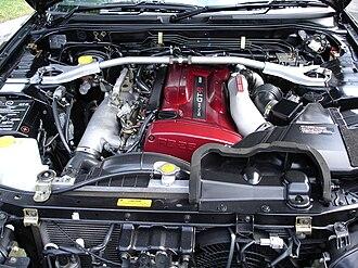 Nissan RB engine - RB26DETT in a R34 Skyline GT-R