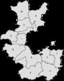RB Minden 1816-1831 Kreiseinteilung nummeriert.png