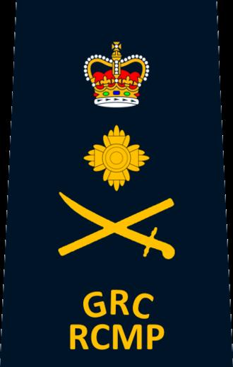 Police commissioner - Image: RCMP Commissioner
