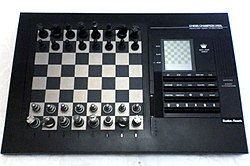 1990s Pressure-sensory Chess Computer with LCD screen