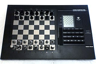 Computer chess computer hardware and software capable of playing chess