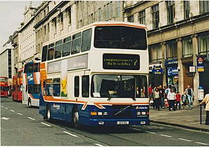 Dublin Bus - Alexander bodied Volvo Olympian in May 2003