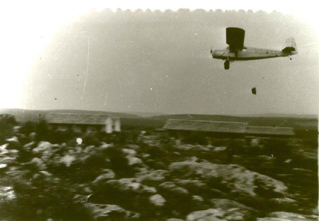 RWD 13 - Air dropping supplies to Yehiam, 1948