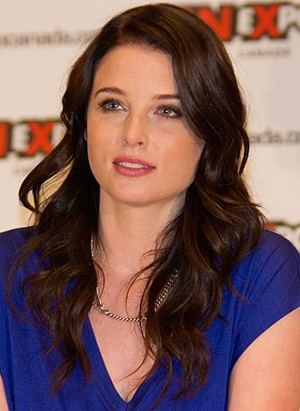 Rachel Nichols (actress) - Nichols at a panel for Continuum at the 2012 Fan Expo Canada