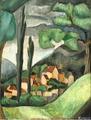 Ragnhild Keyser Fransk landskab Fra Provence.png