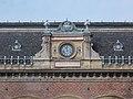 Railway station, clock, 2020 Terézváros.jpg