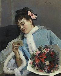 Raimundo Madrazo - The Love Letter.jpg
