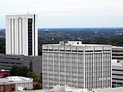 Raleigh NC downtown government buildings