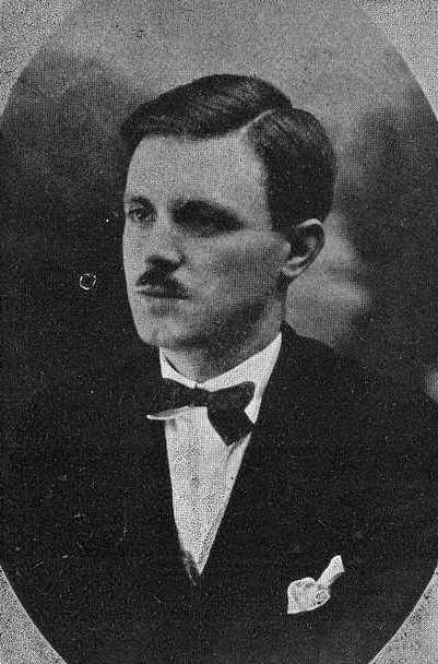 Retrato en Vida Gallega, 1928.