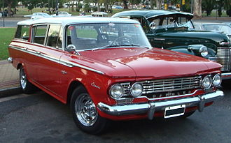 Industrias Kaiser Argentina - 1961 Rambler Classic.