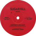 Rapper's Delight (Long version) by Sugarhill Gang US 12-inch vinyl red label.png