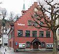 Rathaus Rheineck (Bj. 1555), Ansicht Bahnhofstrasse.jpg