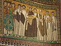 Ravenna Basilica of San Vitale mosaic Justinian.jpg