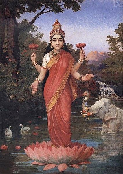 Ficheiro:Ravi Varma-Lakshmi.jpg