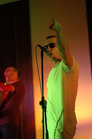 Reagan Jones - Reagan Jones performing with Iris, 2008