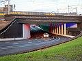 Recently opened tunnel (Marstunnel) under the railways near NS station Zutphen - panoramio.jpg