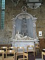 Reclining figure within St Mary's, Bloxham - geograph.org.uk - 1461116.jpg