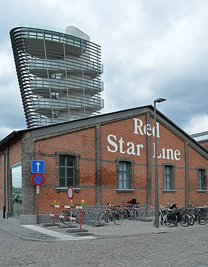 Red Star Line - Red Star Line museum at Antwerp