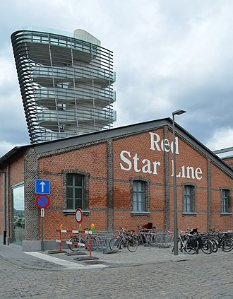 Red Star Line museum at Antwerp Red Star Line Museum.jpg