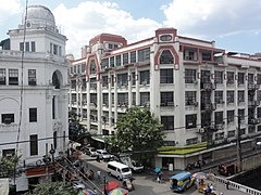 Regina Building and First United Building (Escolta, Binondo, Manila; 2014-11-07).jpg