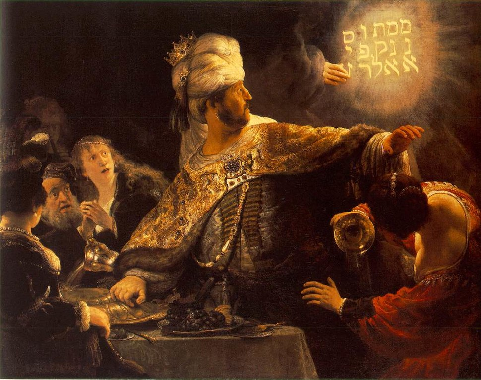 Rembrandt - Belshazzar's Feast - WGA19123