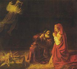 Rembrandt: Manoah's Sacrifice