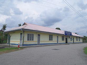 Rengam railway station - Image: Rengam Railway Station