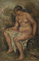 Renoir - Seated Bather (Baigneuse assise), 1905.jpg