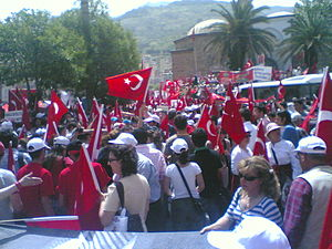 Republic Protests - Manisa rally