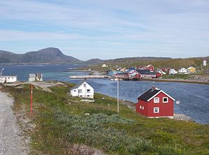 Porsanger - View of Repvåg