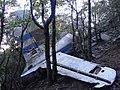 Restes de l'accident d'avió a l'Albera el 1986 (novembre 2012) - panoramio (1).jpg