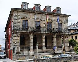 Ribadeo, Pazo de Ibáñez, Casa do Concello.JPG