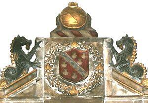 Spanish Company - Image: Richard Beaple Spanish Company Achievement Barnstaple Church