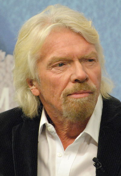 Richard Branson, British business magnate, investor and philanthropist