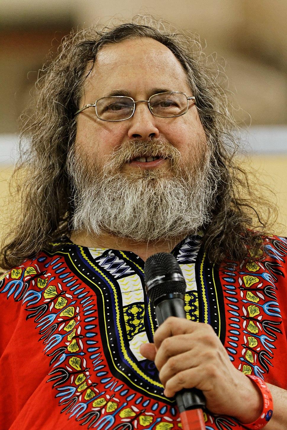 Richard Stallman - F%C3%AAte de l%27Humanit%C3%A9 2014 - 010