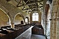 Richards Castle, St. Bartholomews Church- The nave from the pulpit (geograph 6151295).jpg