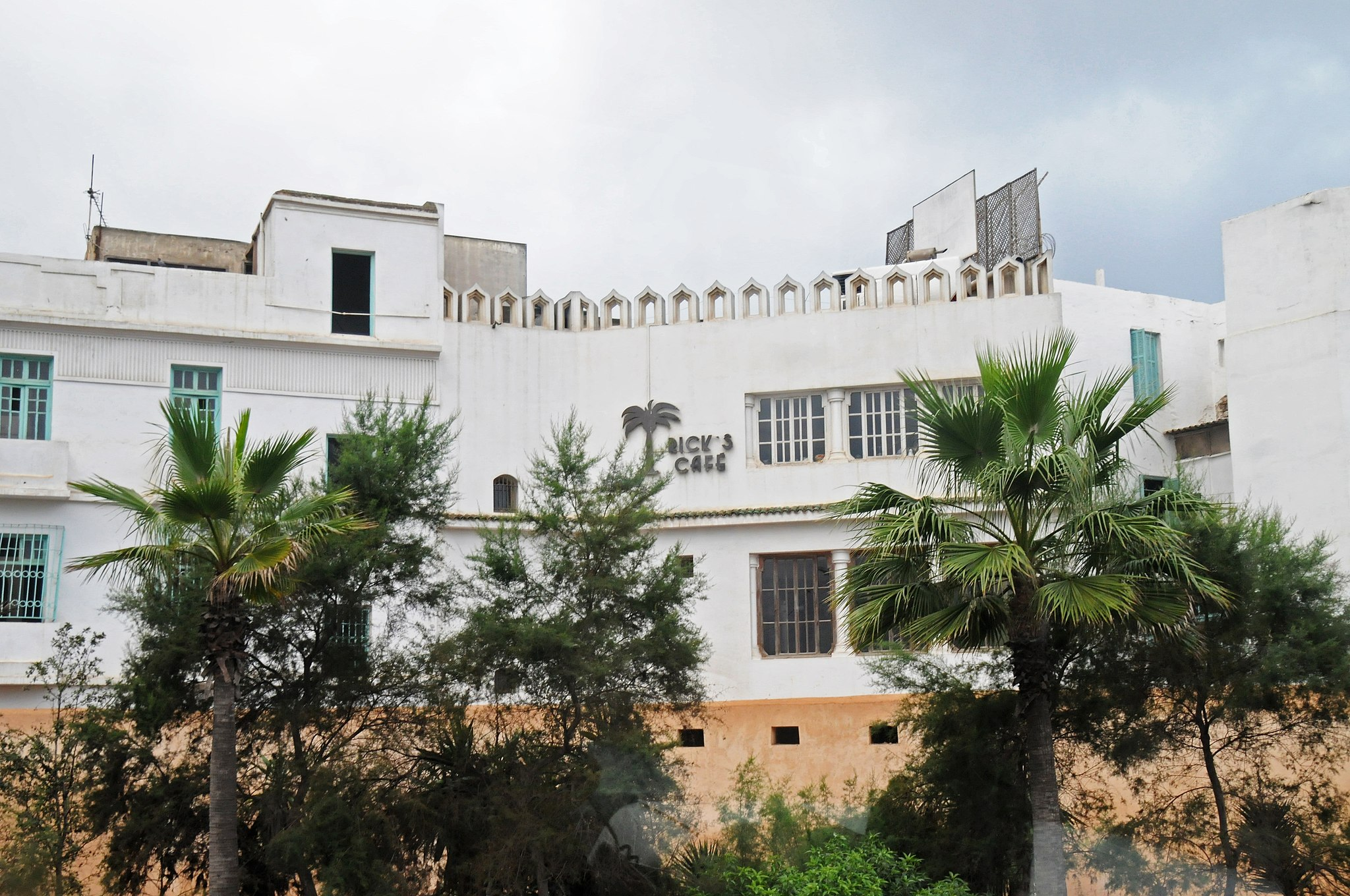 Rick's Cafe (of movie fame) in Casablanca, Morocco - panoramio