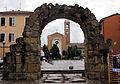 Rimini, porta montanara, int. 01.JPG