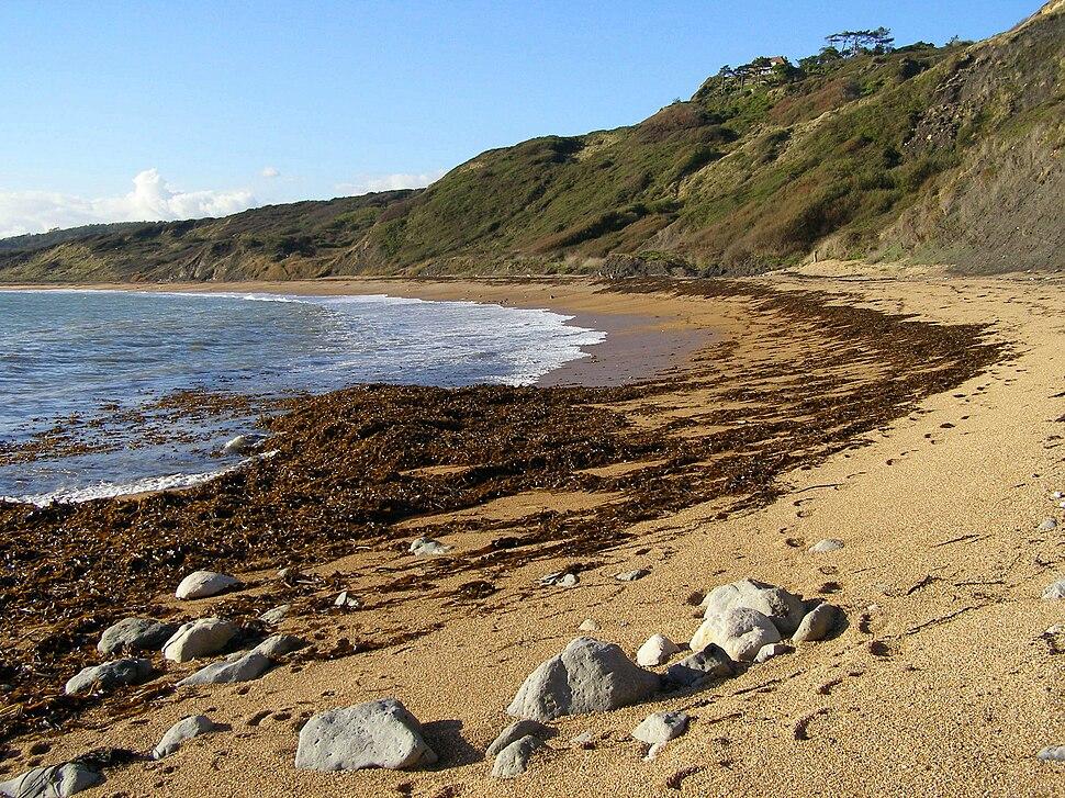 Ringstead bay beach east end