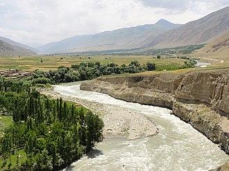 Kokcha River - The Kokcha River in Badakhshan Province of Afghanistan