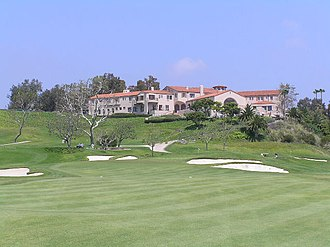 Riviera Country Club - 9th hole in 2006