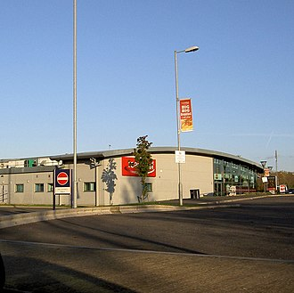 Delek - A Roadchef service station near the M1 motorway, England