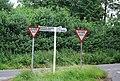 Road junction near Seal - geograph.org.uk - 856580.jpg