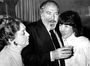 Robert Altman - Altman with Lillian Gish and Lily Tomlin at Nashville awards ceremony in 1976