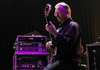 Robert Fripp English guitarist, composer and record producer