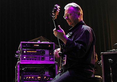 Picture of a band or musician: Robert Fripp