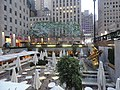 Rockefeller dining plaza dusk jeh.JPG